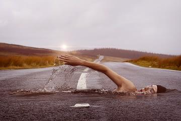 κολύμβηση ή τρέξιμο